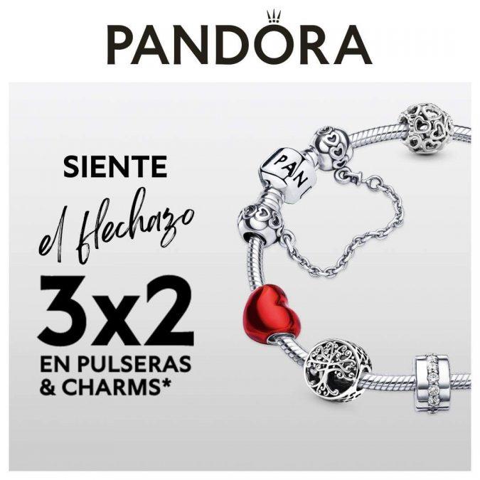 Promoción 3×2 en Pandora